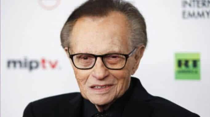 Larry King passed away