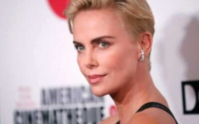 Charlize Theron on a shopping tour