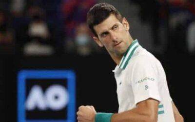 Djokovic, the men's singles champion at the Australian Open
