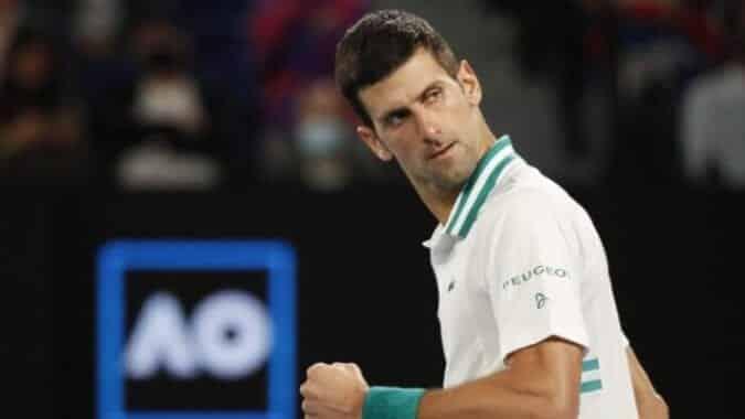 Champion Djokovic