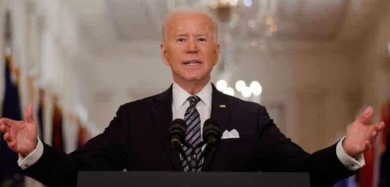 US President Joe Biden held a press conference for the first time