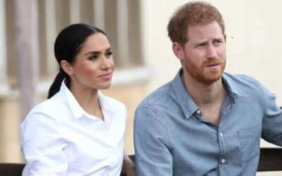Meghan Markle Prince Harry's wife accuses British royalty of producing fake news
