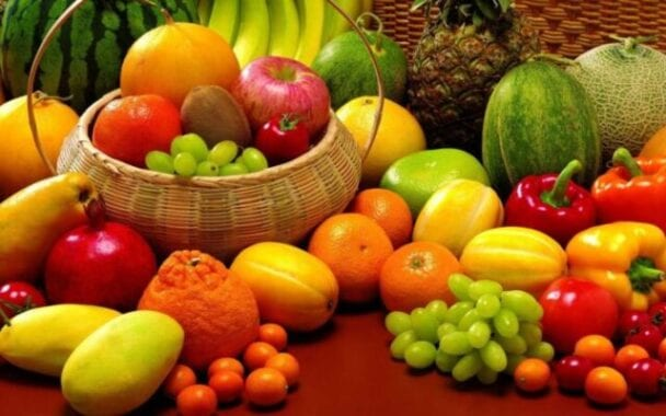 Research: two fruits and three vegetables a day prolong life