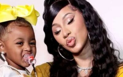 Cardi B .: God Gave Me This Beautiful Baby For A Reason