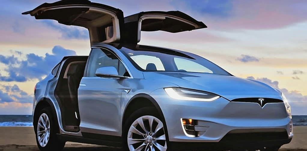 Driverless Tesla Car Burned