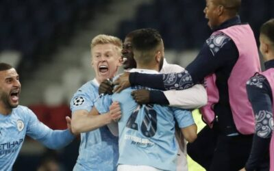 Manchester City Take Advantage Of PSG On The Road