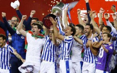 2020 Spanish King's Cup champion Real Sociedad