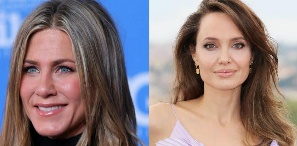 Angelina Jolie Jennifer Aniston