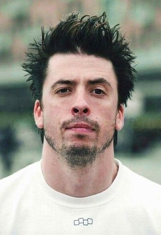 dave grohl short hair photograph