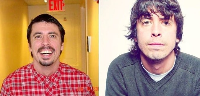 dave grohl short hair picture