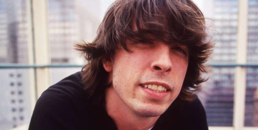 dave grohl short hair