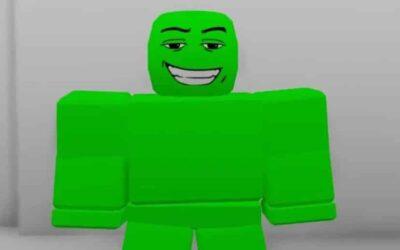 Green Screen Man Roblox Id